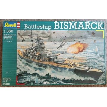 Revell 05040 Bismarck 1:350 + bonus!
