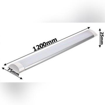 Lampa LED 120 cm Panel świetlówka 72W