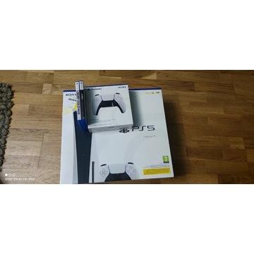 PlayStation 5 PAD ,  GRY , OD RĘKI !!!!!