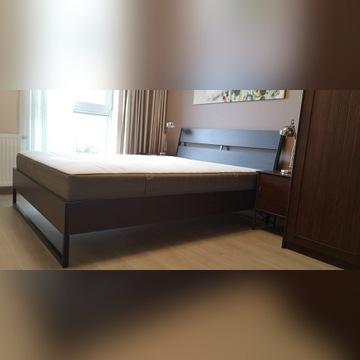 Łóżko Ikea Trysil 160x200 z materacem Hovag