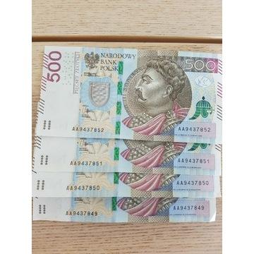 Banknot sekwencja