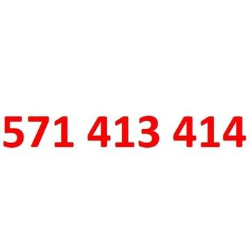 571 413 414 starter orange złoty numer 20zl + 50GB