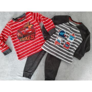 Piżama Zygzak Auta C&A 104cm 2 bluzki 1 spodnie