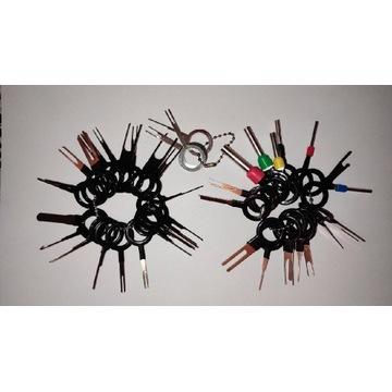 Zestaw do demontażu pinów z wtyczek (41szt.)
