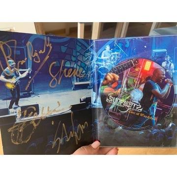 Płyta The Sunpilots z autografami