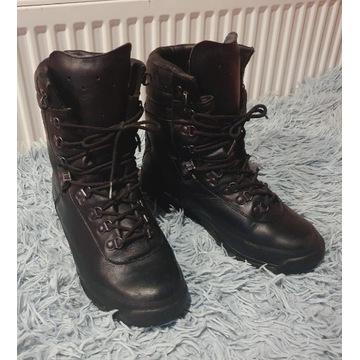 buty wojskowe harcerskie mundurowe czarne 40 26.5