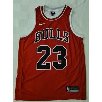 Koszulka meczowa Nike Jordan 23 biała i czerwona