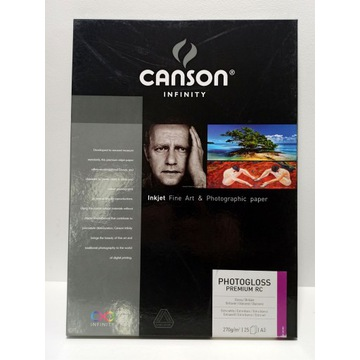 Canson Infinity PhotoGloss Premium RC 270g - A3, 2
