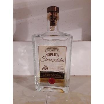 Soplica Staropolska Dereniowa pusta butelka 0,7