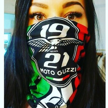 Moto Guzzi komin, BUFF, bandana, apaszka