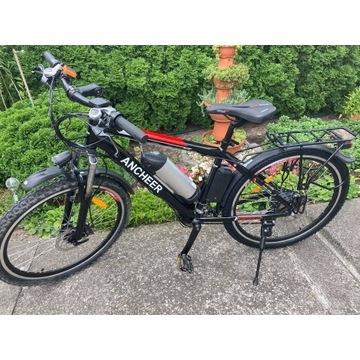 Rower Elektryczny E-Bike 30km/h Tarczowe Hamulce