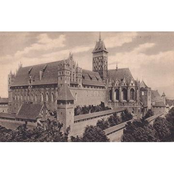 Pocztówka - Malbork (Marienburg) - Schloss