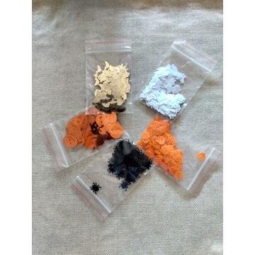 Konfetti pająki
