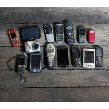 Telefony duży zestaw
