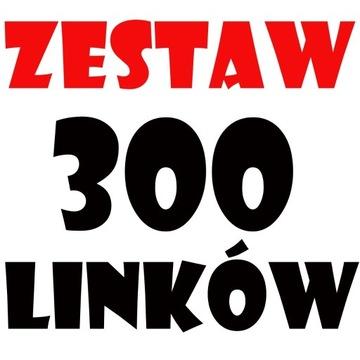 POZYCJONOWANIE 300 linków Presell Page Linki SEO