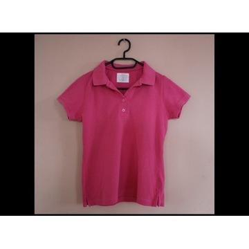 Koszulka polo L.O.G.G. H&M S różowa
