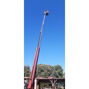 Wysięgnik na przyczepie Denka Lift 25 m 1990 Ważny
