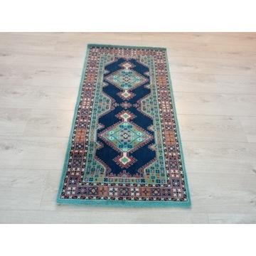 Piękny orientalny wełniany dywan 60x120cm