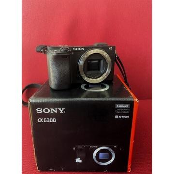 Aparat Sony alpha a6300  body + torba gwarancja