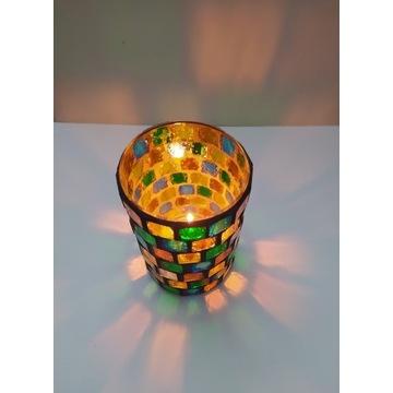 Lampion latarenka świecznik