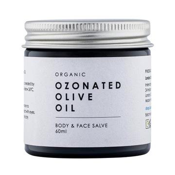 Oliwa z oliwek ozonowana ozonowa ozon bio maść