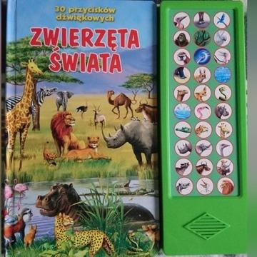 Zwierzęta świata -30 przycisków. Czytaj opis.