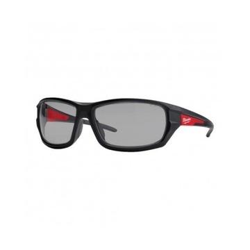Okulary ochronne premium Milwaukee szare