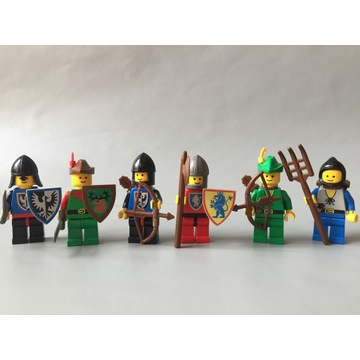 LEGO 6103 Castle Figurki Rycerze Robin Hood