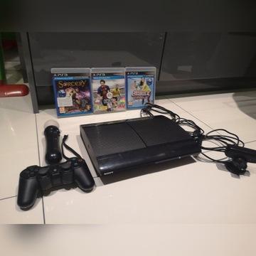 KONSOLA SONY PS3 CECH 4004C SUPER SLIM GRY 500GB !