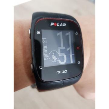 Zegarek sportowy Polar m430 sprawny okazja