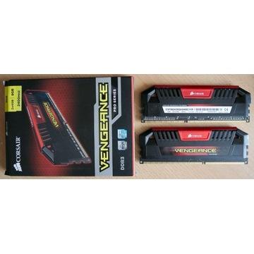 RAM DDR3 8GB CORSAIR Vengeance 2x4GB 2400MHz CL11
