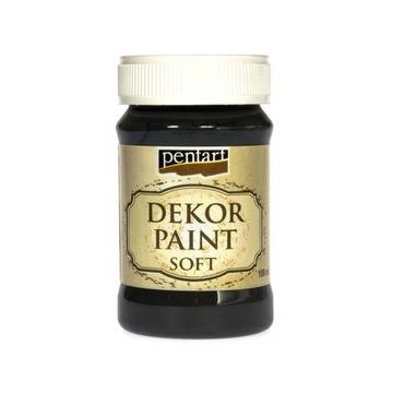 Farba kredowa Pentart czarna 100 ml