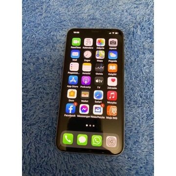 Iphone 11 pro max silver 256gb stan idealny!!!