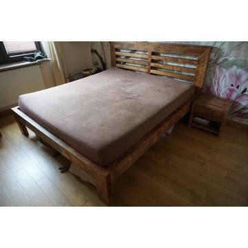 Łóżko na materac 180x200 (+szafki)