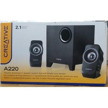 Głośniki Creative A220 2.1 - Głośniki komputerowe