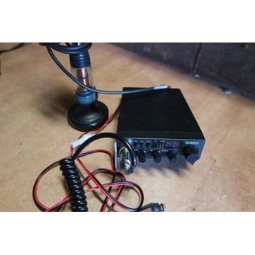 CB radio Uniden PRO 520 XL plus antena President