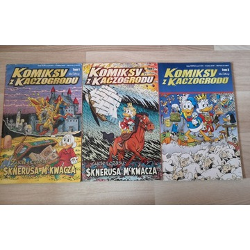 Komiksy z Kaczogrodu, Życie i Czasy Sknerusa