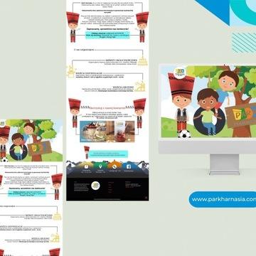 zaprojektowanie i stworzenie strony internetowej