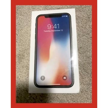NOWY IPHONE X GRAY 64GB DODATKI GW!   XS SE 11 12