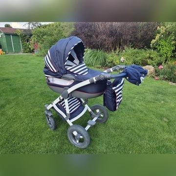 wózek dziecięcy 2 w 1 gondola spacerówka