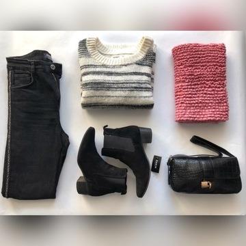 Mega paka ubrań dla szczupłej dziewczyny XS S Zara