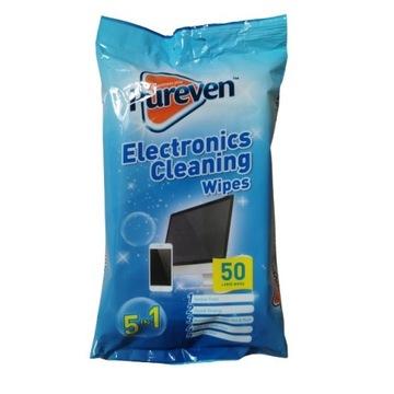 Chusteczki nawilżone do czyszczenia elektroniki