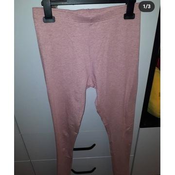 Różowe legginsy NOWIUTKIE
