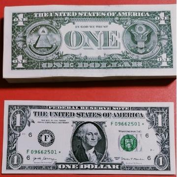 1 Dolar  USA 2017r F * UNC  Rzadkie