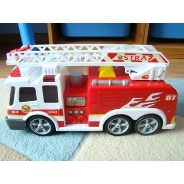 Wóz strażacki Dickie z dźwiękiem+pompką wody 37cm