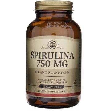 Solgar Spirulina 750mg 80 szt.