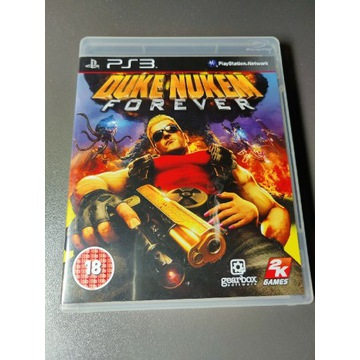 Duke Nukem Forever PS3 stan Kolekcjonerski
