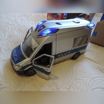 Dickie Duży samochód policyjny POLICJA SOS OKAZJA