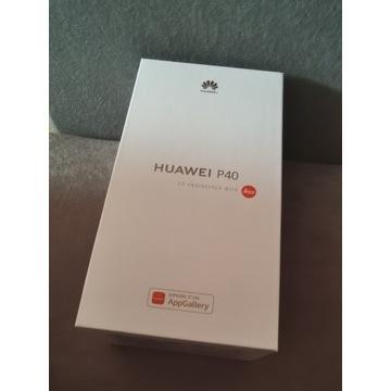 Huawei P40 5G 128GB black 24 mc gwarancji