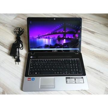 "Acer/Emachins 17,3"" LED, 4GB RAM, 3x2,1GHz, HD6650"